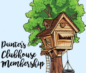 Painter's Clubhouse Monthly Membership Group by Southern ADOORnments