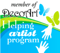 Member of DecoArt Helping artist program