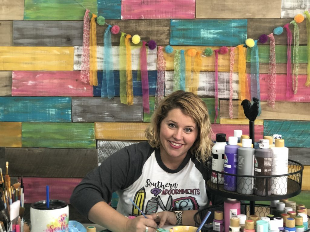 Video Set for Pallet Wall Colorful Backdrop by Southern ADOORnments