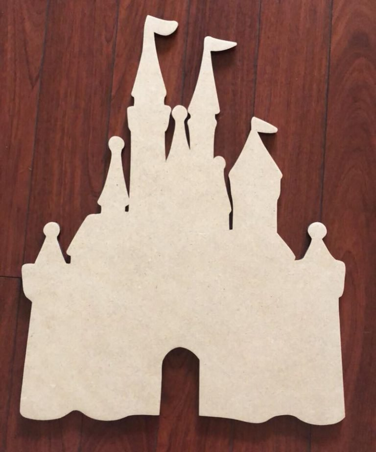Disney Princess Castle Blank Door Hanger by Southern ADOORnments