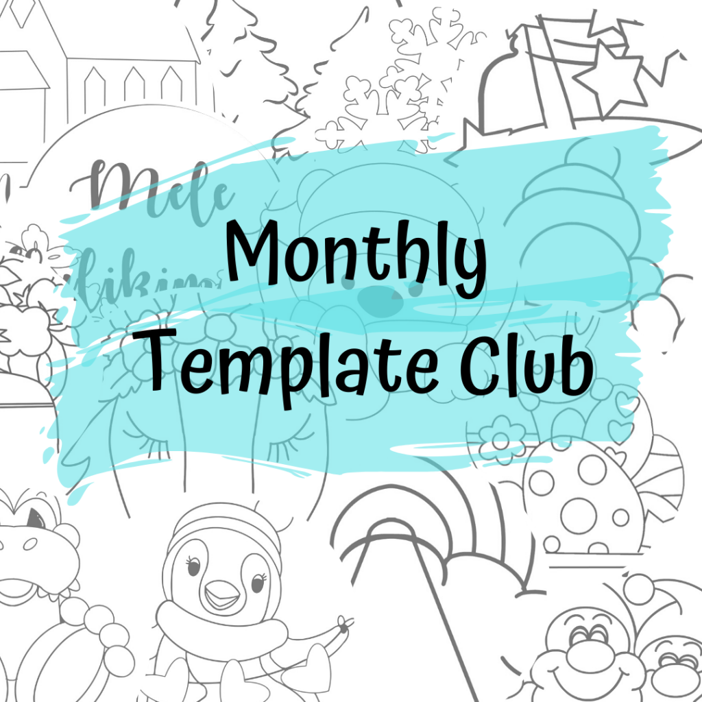 Monthly Template Club Example