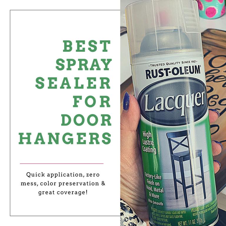 Rustoleum Lacquer Door Hanger Sealant by Southern ADOORnments