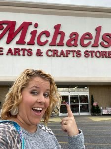 Shopping at Michael's while crafting on a budget by Southern Adoornments