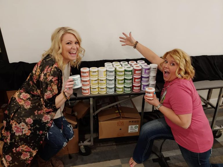 Lots of DecoArt Americana Paint Party Paints LIVE with Southern ADOORnments