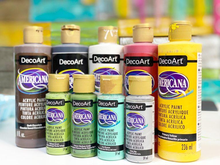 Southern A-Door-nmnets Schoolhouse Door Hanger DecoArt Paint Colors