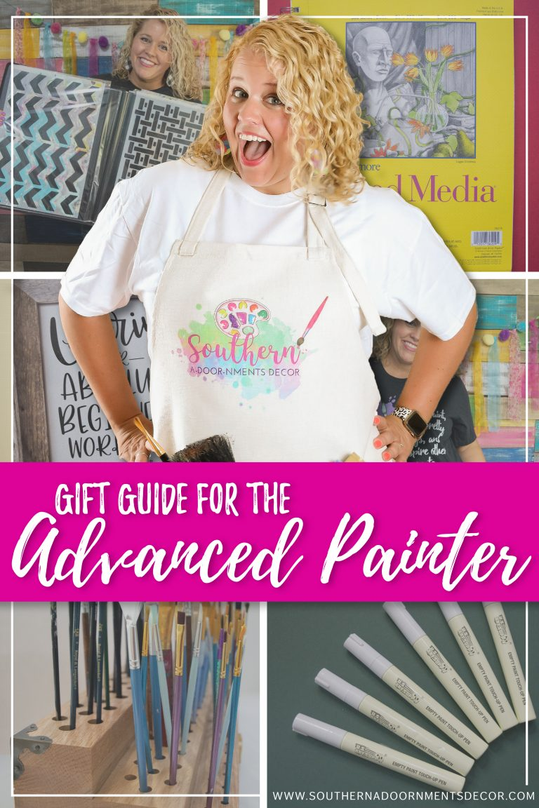 Christmas Gift Guide for the Advanced Painter | Holiday Ideas for Crafter | Southern A-DOOR-nments