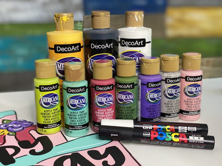 DecoArt Paint Colors used by Southern A-Door-nments
