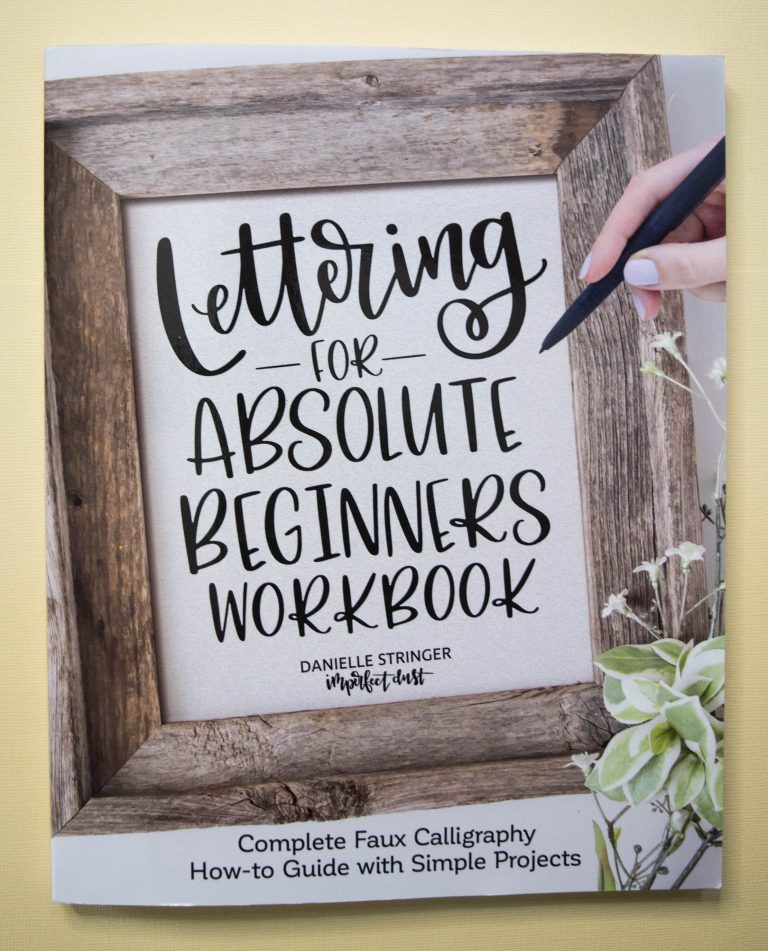 Hand Lettering for Beginners Workbook