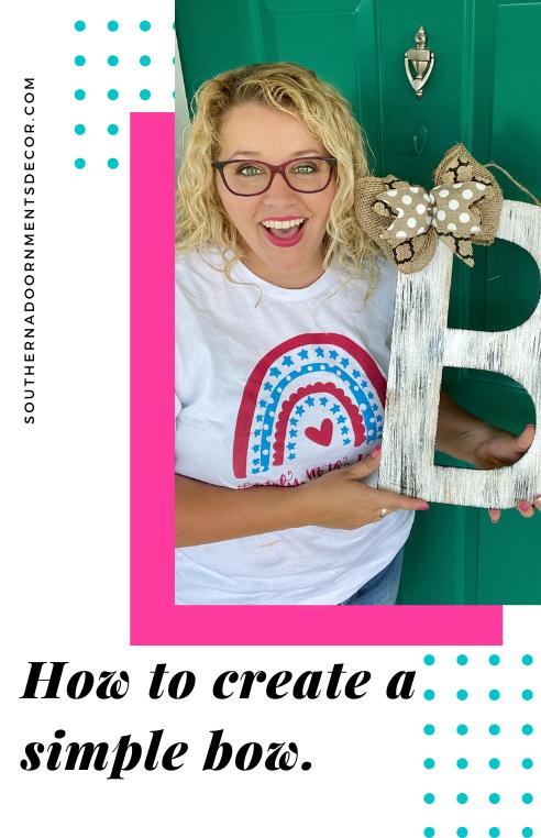 Tamara Bennett - How to make a simple bow