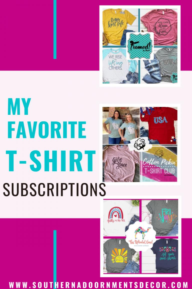 Tamara's Favorite T-Shirt Subscriptions