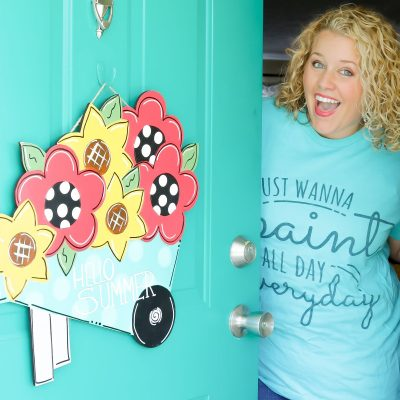 What is a Door Hanger? Learn to Paint a Door Hanger with Southern A-Doornments